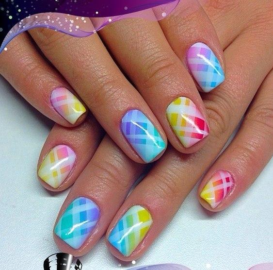 Дизайн ногтей аэрографом фото